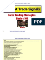 Forex Trading Strategies Basics 101