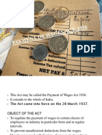 Ir Ppt Payment of Wages 1936