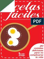 Recetario Faciles 2013