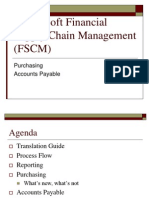PeopleSoft Financial Supply Chain Management (FSCM)