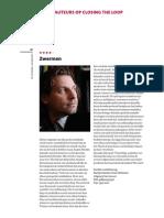 Zwermen - artikel in P3 magazine oktober 2013