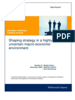 8 Shaping Strategy in an Uncertain Macroeconomic Environment