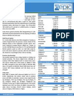 Special Report by Epic Research 23 October 2013