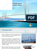 seismic control of cable-stayed bridges with LRB control devices