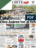 Periódico Norte de Ciudad Juárez 23 de Octubre de 2013