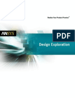 ANSYS 14 Design Exploration