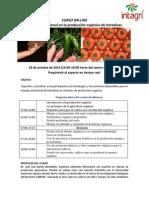 Programa Nutricion Organica de Hortalizas