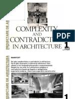 Complexitate Si Contradictie in Arhitectura