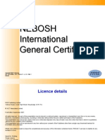IGC1 - Element 1 Foundations in Health & Safety (1st Ed) v.1.0