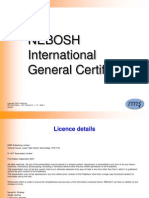 IGC1 - Element 3 Organising for Health & Safety (1st Ed) v.1.0