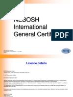 IGC1 - Element 3 Organising for Health & Safety (1st Ed) v.1.0