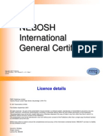IGC1 - Element 5 Risk Assessment (1st Ed) v.1.0