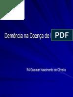 DemenciaDoencaParkinson2007julho17