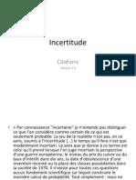 Citations sur l'incertitude V3.ppt