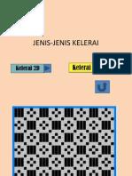 JENIS-JENIS KELERAI