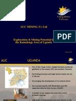AUC Mining - Exploration & Mining Potential in Kamalenge, Uganda