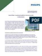 20131022 - CP - Icade et Philips