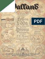 Valland 1 Sept 2012 Bulletin Dinformation Sur Les Etudes Norroises