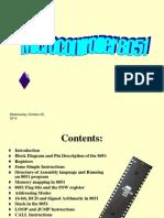 Microcontroller 8051 Instruction Set