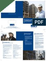 Contractors All Risk - Brochure