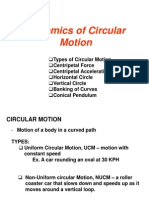 Dynamics of Circular Motion Revised 1st Term _11-_12