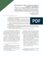 Adan Álvarez, G.E., Martínez Faedo, L., Díez García, F. 1994. Limpieza estratigráfica del castro de Caravia (Caravia, Asturias). Reconstrucción arqueológica / histórica