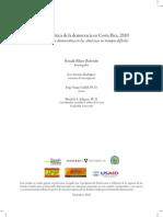 Cultura Política de la Democracia en Costa Rica, 2010