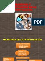 Objetivos y Justiticacion en La Investigacion