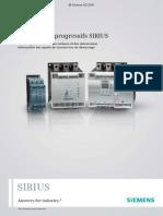 Brochure Demarreur SIRIUS FR 2008
