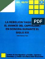 La Rebelion Yaqui Durante El Siglo XIX