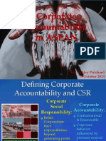 Corporate Accountability in ASEAN. Presented by Ashley Pritchard of FNS-Myanmar