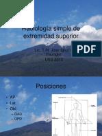 3-Radiología simple de extremidad superior I
