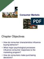 Consumer Markets(1)