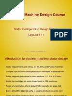 Lecture11 - Stator Configuration Design Criteria