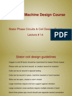 Lecture14 - Stator Phase Circuits & Coil Design, Part 1