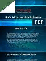 FRAS- Advantage of Air Ambulance
