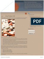 What MS - Drug Therapy