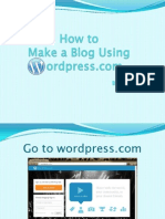 How to Make Blog Posts in Wordpress