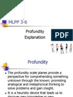 profundity explanation
