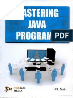 Mastering Java Programs Preview by Jb Dixit