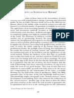 Jean Biès - About an Intellectual Reform