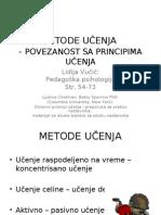 4. Metode Ucenja i Povezanost Sa Principima Ucenja
