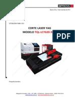 8086 - Laser Yag 3015 -620w -Equipos Vertrauen Paraguay