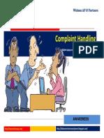 Complaint Handling