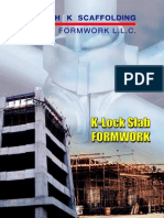 K LockSlabFormwork