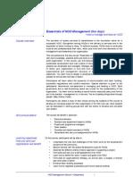 Essentials of NM Leaflet