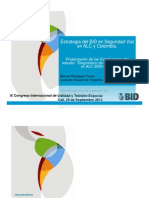 Plenaria Dia1 Estrategia Bid Seguridad Vial Alc Colombia Manuelrodriguez Iadb