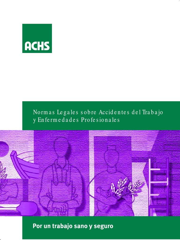 ACHS - Normas Legales Sobre at y EP - Julio 2011