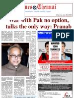 Times Chennai, E Paper, 30 July 2009