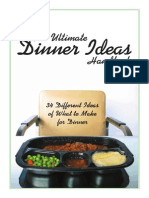 The Ultimate Dinner Ideas Handbook